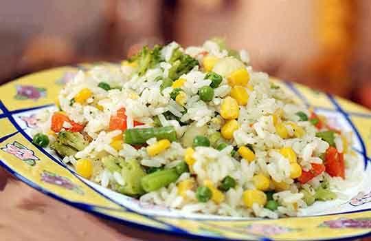 Рис с овощами 150г.