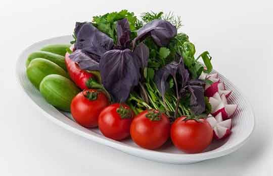 Овощи Бакинские (300/20г.)