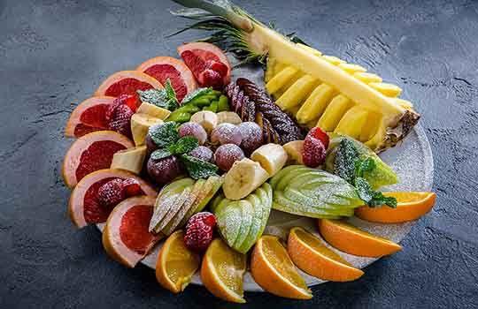Тарелка фруктовая 700г.